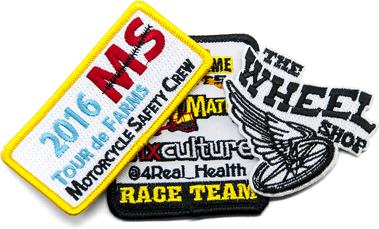 example motorcycle patches