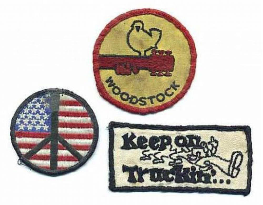 Woodstock Patches Inspire, Embrace, and Love